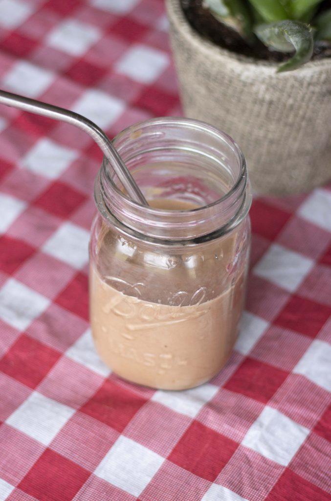 Chocolate Avocado banana smoothie, avocado smoothie for kids