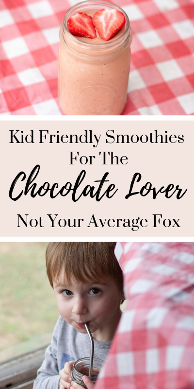 chocolate lover smoothies, chocolate strawberry smoothie, smoothies for kids, healthy smoothies