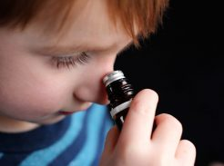 essential oils kids, cure a kid's cold, cold remedies for kids