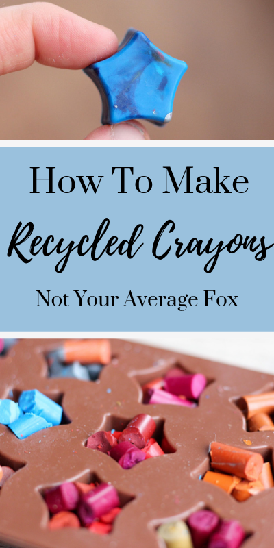 Recycled Crayons Pinterest