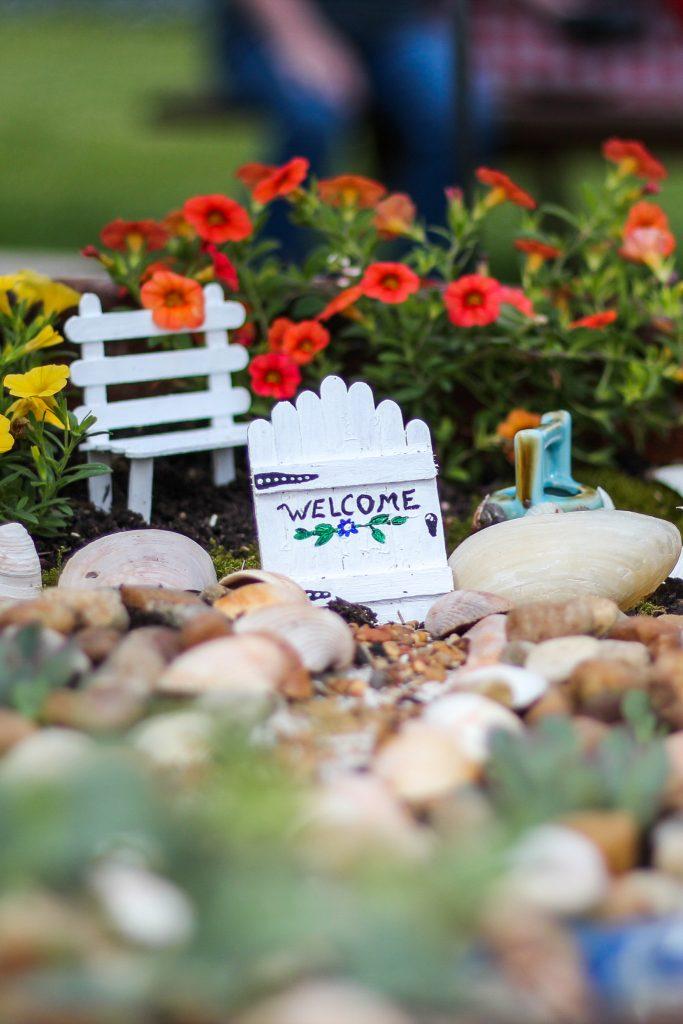 Trash To Treasure: DIY Fairy Garden