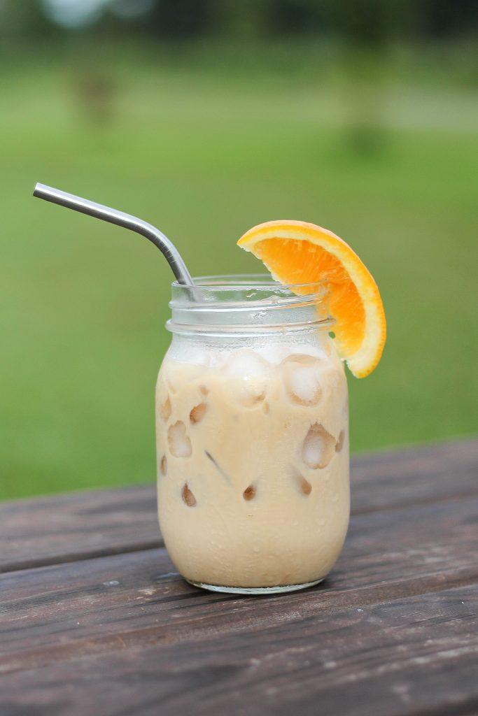 Orange Creamsicle Iced Latte