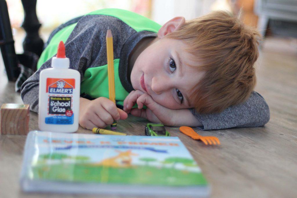 Homeschoolin A 4 Year Old