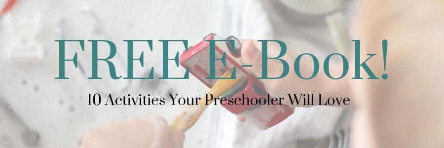 preschool e-book