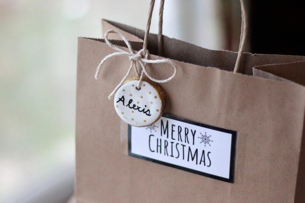 christmas gift bag diy