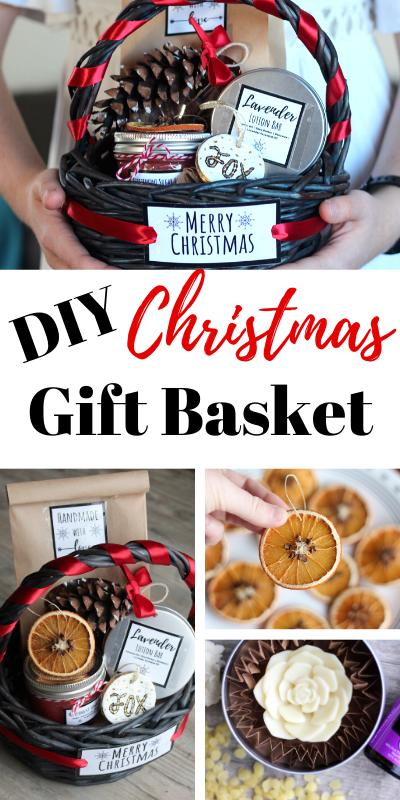handmade gift baskets pinterest