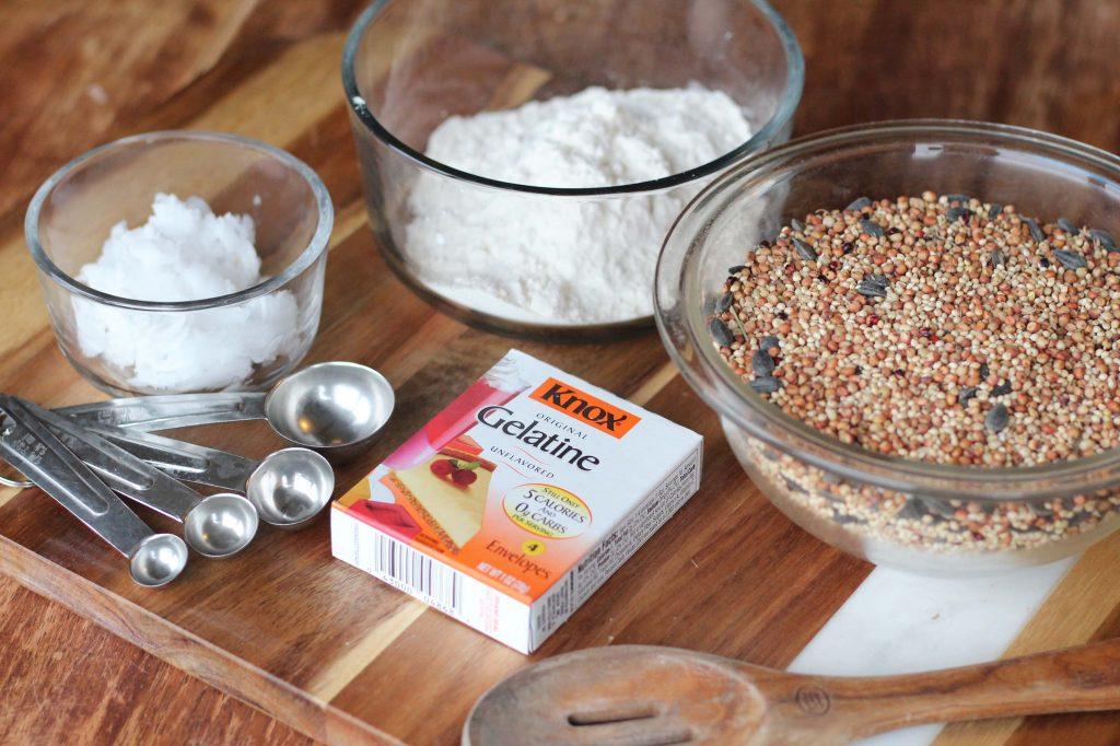 homemade bird feeder ingredients